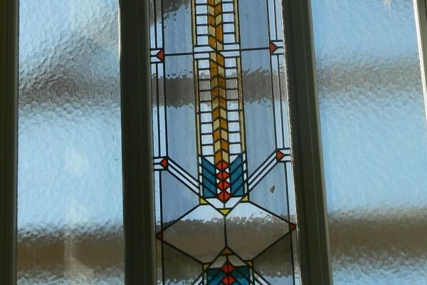 Ólomüveg Machintos stílus