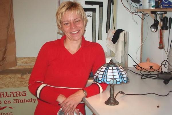 Tiffany lámpa gömb