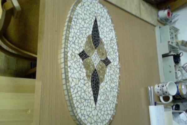 Mozaik tálaló