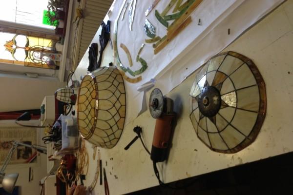 Tiffany lámpa javítás