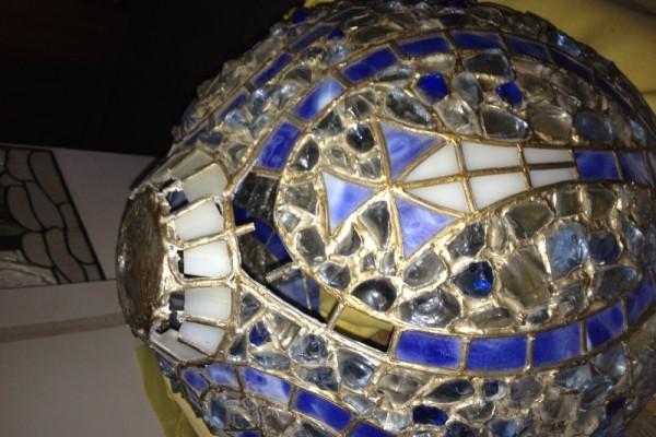 Ólomüveg lámpa javítás