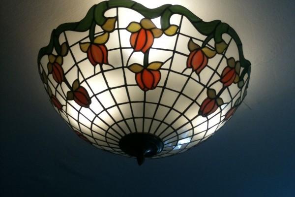 Tiffany mennyezeti lámpák