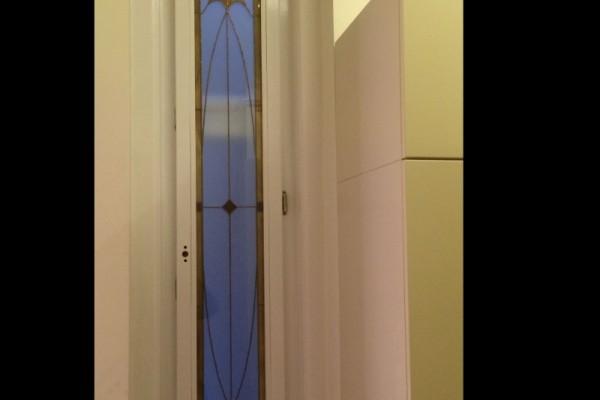 Tiffany üveg lifthof ablak