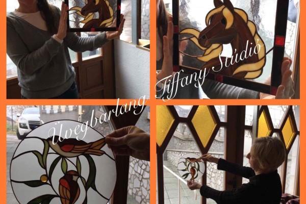 lovas kép Tiffany tanfolyam