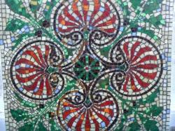 Szabott mozaik Ü.T.S. - munkája